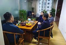 济南市槐荫区领导视察华菱保险并举行座谈